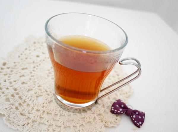しょうが紅茶淹れる