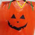 ハロウィンの手作りかぼちゃ