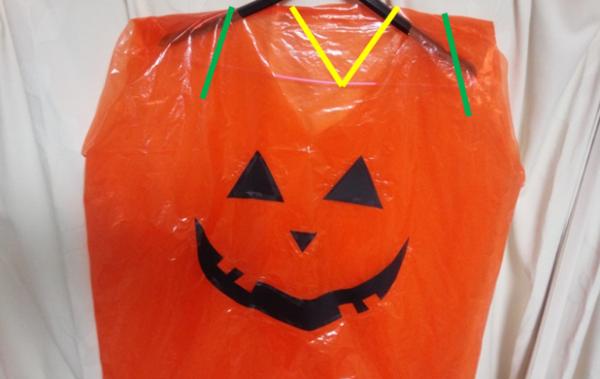 ハロウィンの手作りコスチュームといったら、かぼちゃで決まりでしょ!